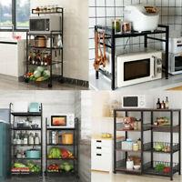 Modern Kitchen Shelf Storage Cabinet Microwave Oven Rack Stand Holder Organiser