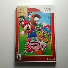 Mario Super Sluggers - Nintendo Wii - FIRST CLASS FAST SHIPPING