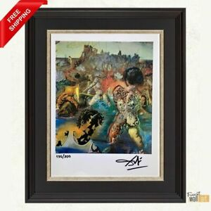 Tuna Fishing by Salvador Dalí Original Hand Signed Print with COA