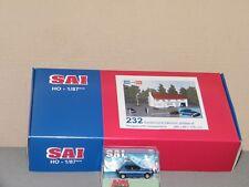 GENDARMERIE Batiment, grillage et miniature Peugeot 206 SAI 1/87 Ref 232