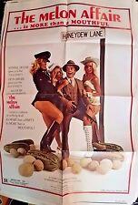 "The Melon Affair Movie Poster Folded 40""x27"""
