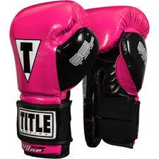 Title Boxing Gel Glory Super Bag Gloves - Hot Pink/Black