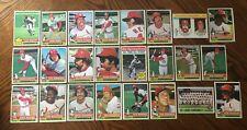 1976 ST LOUIS CARDINALS Topps COMPLETE MLB Team Set 24 Cards BROCK HERNANDEZ