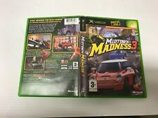 MIDTOWN MADNESS 3 XBOX BOXED COMPLETE WITH MANUAL