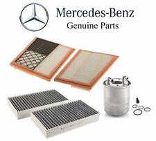 Mercedes W164 ML-Class X164 GL-Class W251 Fuel Air & Cabin Air Filters Kit OES