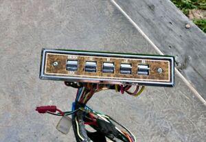 OEM POWER WINDOW & LOCK SWITCH PANEL LH AMC Concord Spirit Eagle Door Gremlin