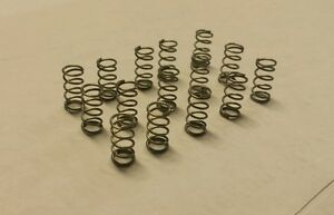 """Qty 30  .625"""" length  .125""""  OD Stainless Steel small compression coil springs"""