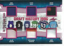 2019 Leaf ITG Used Sports BRYANT NASH CHARA IVERSON + Draft History 6X Patch 3/5