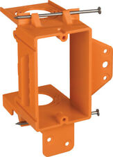 Carlon  3.73 in. L Rectangle  5.16 in. 1 gang PVC  Orange  Low Voltage Mounting
