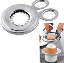 Stainless Steel Boiled Egg Shell Topper Cutter Opener Gadget Egg Tools New