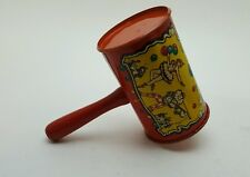 Vintage 50's-60's Era Lithographed Noise Maker Life Of The Party Hammer Free Shi