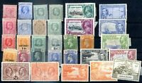 BRITISH CAYMAN ISLANDS Lot 31 Different Old Stamps Mint VF