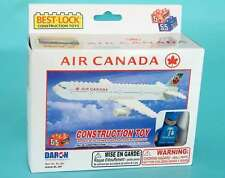 BEST LOCK AIR CANADA CONSTRUCTION TOY 55 PIECE BRICK TOY