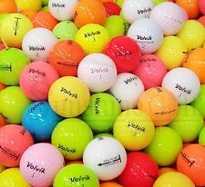 24 AAA Volvik Assorted Mix Used Golf Balls (3A) - FREE SHIPPING