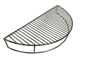 Stainless Steel Charcoal BBQ Warming Grill Rack for Kettle fits Weber 57cm