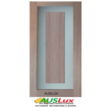 Designer Square Glass 1 internal and External solid core door Many Sizes