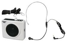 NEW Pyle Portable Waist-Band Pa Speaker W/ Headset Microphone USB iPod MP3 Input