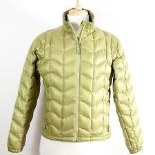 Marmot Lightweight Down Jacket Full Zip Puffer Green Men's Medium