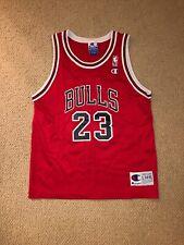 Vintage Champion Michael Jordan Chicago Bulls Jersey Size Youth Large