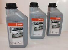 Stihl SynthPlus 3x 1 Liter Sägekettenhaftöl Kettenhaftöl Kettenöl Haftöl