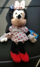 """Disney Mickey & Pals MINNIE MOUSE Applause Vintage Plush Bear Toy 12"""" New w Tags"""