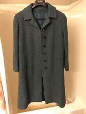 Vintage Harris Tweed - Hand Woven 100% Scottish Wool - Women's Overcoat - S/M