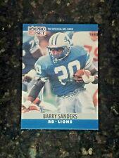 1990 PRO SET Football #102 BARRY SANDERS........NM-MT+