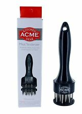 Acme Kitchen 24 Stainless Steel Needles Black Poultry Fish Beef Meat Tenderizer