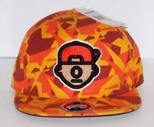 Trukfit Orange Camo Truk Da Wurl Strapback hat cap one size fits most