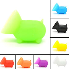 2PCS Mini Pig Suction Cup Silicone Cell Phone Stand Holder