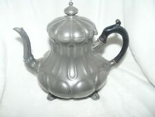 Cafetiere ancienne anglaise sur pieds SHAW & FISHER Sheffield