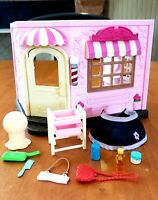 Lil Woodzeez Hair Salon Sylvanian family calico critters