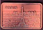 ★★★★★★ JOLI LINGOT PLAQUE CUIVRE ● PARIS ★★★★★★
