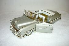 JADA STREET LOW (RIDER) 1953 CHEVY BEL AIR 1:24 SILVER CONVERTIBLE WIRE WHEELS