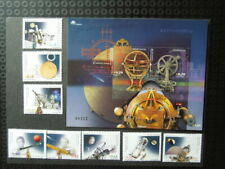 G438   PORTUGAL 2002  ASTRONOMY SPACE  SET + S/S  MNH