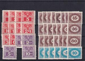 Österreich Porto Nr.  175-188, 204-231, Luxus **