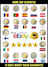 €2 Two Euro Coins EU Countries Collection European Union rare variations Brexit
