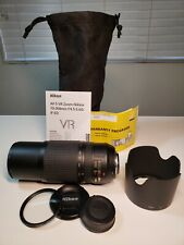 AF-S VR Zoom-Nikkor 70-300mm f/4.5-5.6G IF-ED ,Immaculate condition