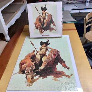 Frank Frazetta The Huntress JIGSAW PUZZLE 1977 Art Square Box 551 Pieces