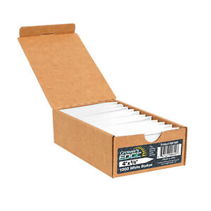 Grower's Edge Plant Stake Labels - White (1000/Box)