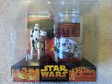 STAR WARS EPIII ROTS: CLONE TROOPER with CUP SET