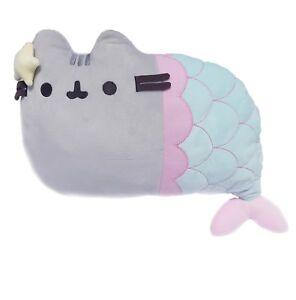 OFFICIAL Pusheen Cat Pusheen Mermaid Exclusive Pillow Bed Sofa Plush Cushion UK
