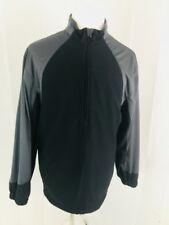 Tommy Armour Mens Golf Pullover Size Large Black Gray