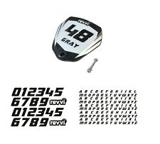 Revvi electric bike motorcycle number and name board kit!