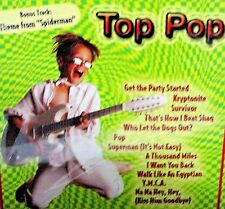Top Pop , NEW! CD, Childrens ,Kid friendly lyrics, Superman, YMCA, Let Dogs Out
