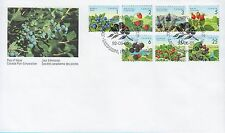 Canada stamp FDC 1992 Fruits definitive stamp CA124747