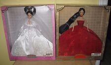 2 YUE-SAI WA WA Dolls Asian RED GLAMOUR Dream Bride gown wedding evening