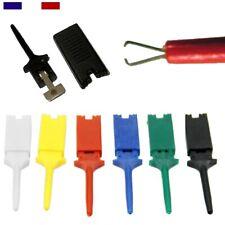 Mini Grip-Fils - 1 lot de 6 couleurs - Rouge, Noir, Blanc, Jaune, Bleu, Vert