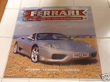 2004-05 FERRARI 16-month Poster Calendar - FERRARI