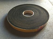 NEOPRENE sponge self adhesive foam strip 25mm x 6mm x 10m *more sizes available*